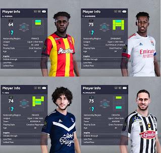 PES 2021 Ligue 1 Facepack Vol 10