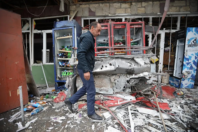 Ρίψη απαγορευμένων βομβών διασποράς κατά Αρμενίων