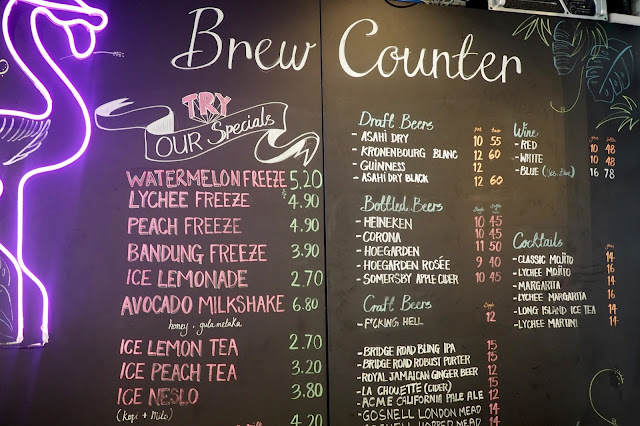 interesting drinks and beverages in singapore