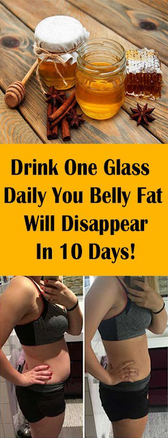 Drink One Glass Daily – Your Belly Fat Will Disappear In 10 Days!
