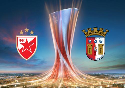 Red Star Belgrade vs Sporting Braga -Highlights 16 September 2021