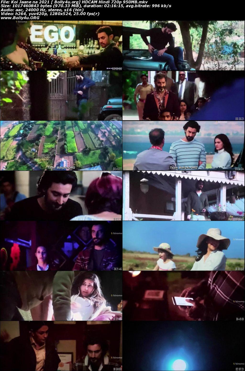 Koi Jaane Na 2021 HDCAM 400Mb Hindi 480p Download