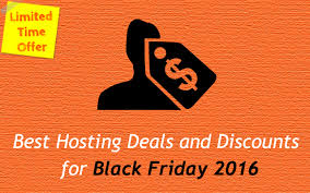 Black friday best hosting deals