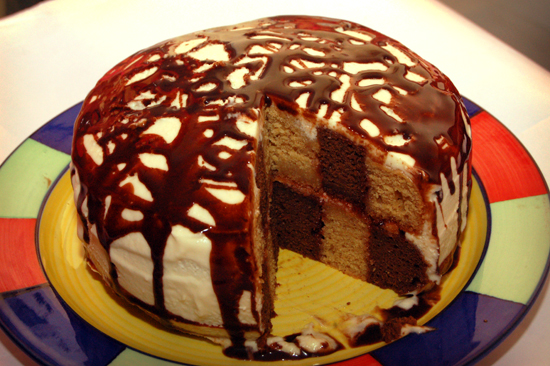 Eggless Victoria Sponge Cake Recipe