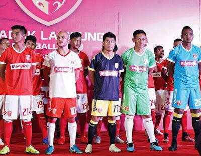 Badak Lampung FC jersey 2019