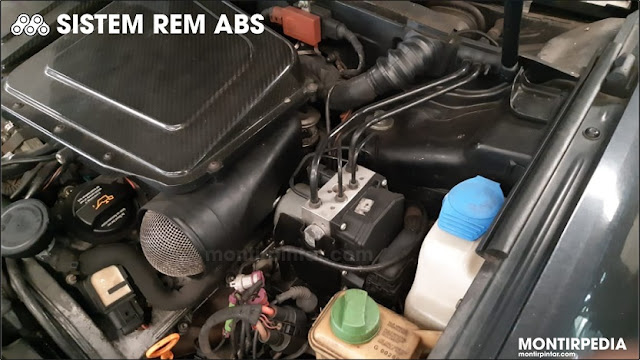 ABS computer & actuator