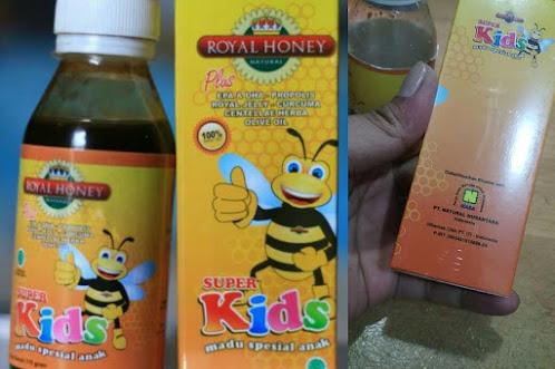 Manfaat madu untuk anak anak