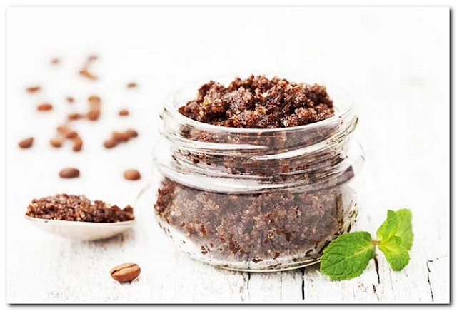 COFFEE SCRUB FOR FACE, Coffee Scrub Face Mask