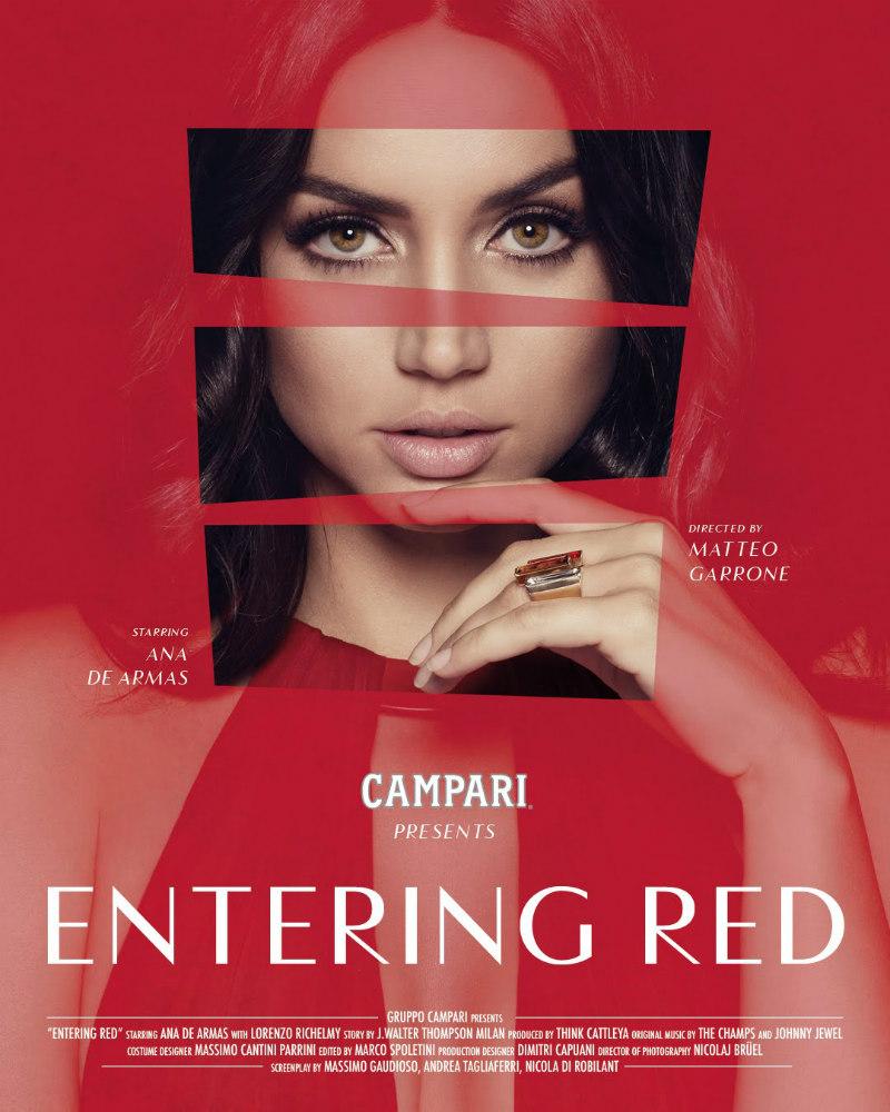 campari entering red poster