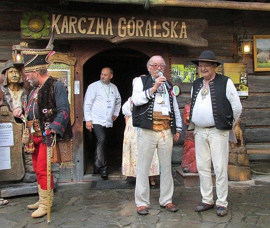 Wielki Zbójnik Jan Sztefek i Kazo Nędza Urbaś.