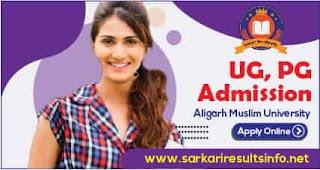 Aligarh Muslim University UG, PG Admission