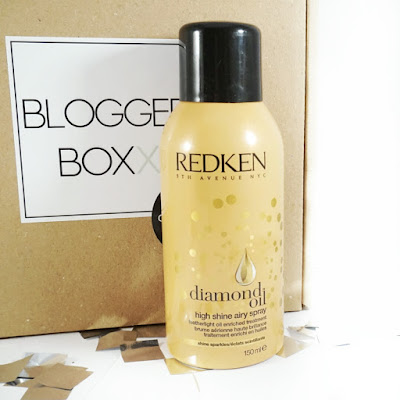 Beautybox Bloggerboxx Celebration Edition Redken Diamond Oil