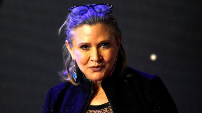 Carrie Fisher died from 'sleep apnoea and other causes,' Los Angeles County coroner says.