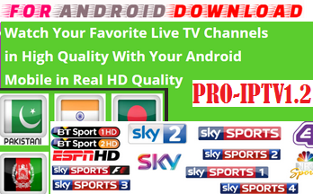 Download Android Free ProIPTV1.2 LiveTV Apk -Watch Free Live Cable Tv Channel-Android Update LiveTV Apk  Android APK Premium Cable Tv,Sports Channel,Movies Channel On Android