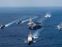 Dua Kapal Perusak Jepang Berlatih Bersama USS Carl Vinson