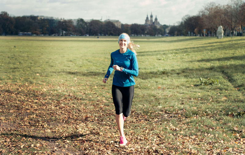 running girl kraków błonia