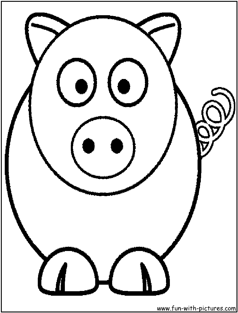 printable coloring pages cartoon animals - photo #8