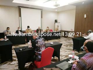 Sekda Provinsi Jambi Secara Resmi Membuka Seleksi Balon Direktur PT JII