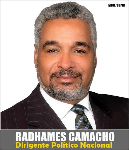 RADHAMES CAMACHO, DIRIGENTE POLITICO NACIONAL