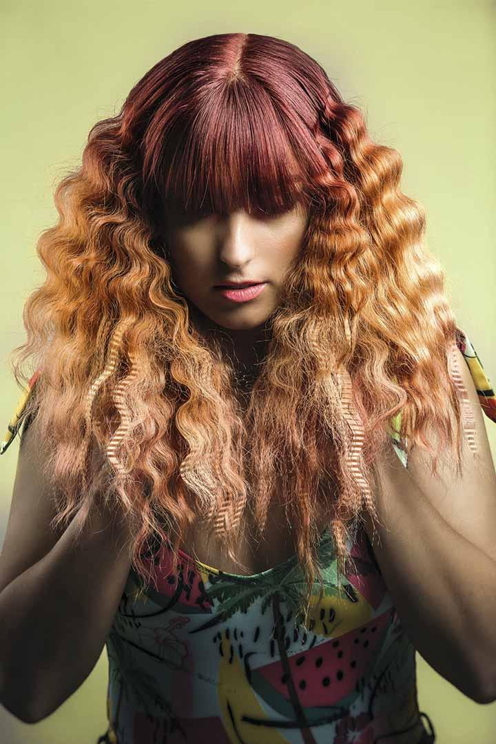 color de pelo calabaza naranja 2020