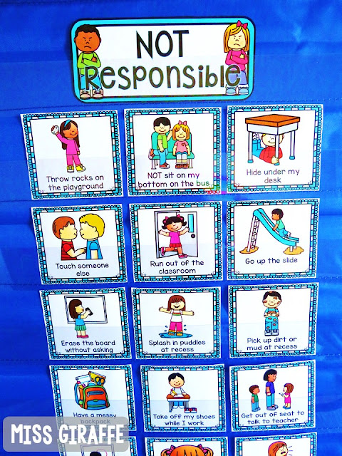 Classroom management lessons for kindergarten or first grade perfect for the beginning of the year and establishing classroom routines and procedures and teaching your new students about all the school rules and classroom rules