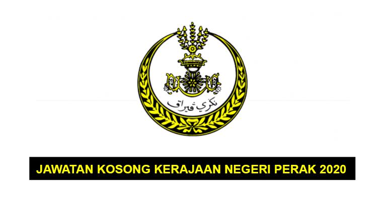 Jawatan Kosong di Suruhanjaya Perkhidmatan Awam Negeri Perak 2020