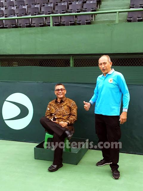 PSBB, Ketum PP PELTI Liburkan Sementara Pelatnas Tenis