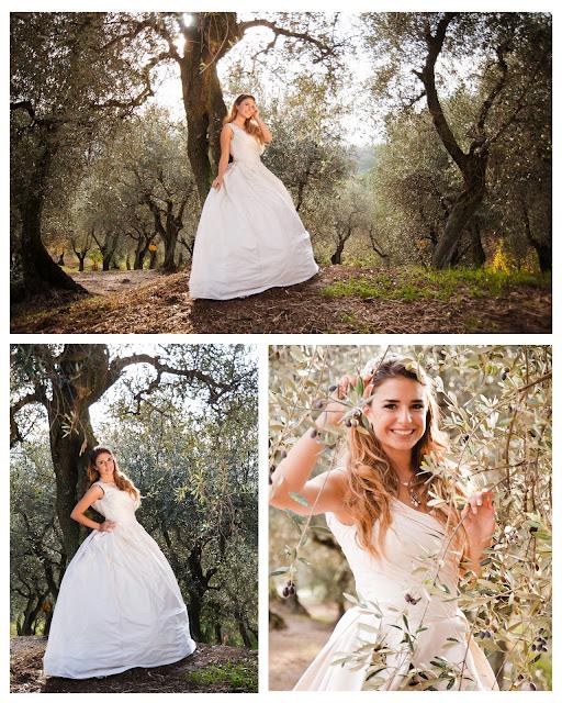 Real Weddings In Tuscany: Real Weddings: Tuscany Bridal Shoot