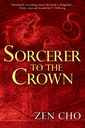 Book cover for Zen Cho's Sorcerer to the Crown in the South Manchester, Chorlton, and Didsbury book group