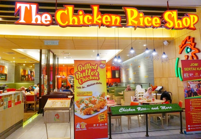 Grilled Butter Chicken di The Chicken Rice Shop Memang Sedap Wei!