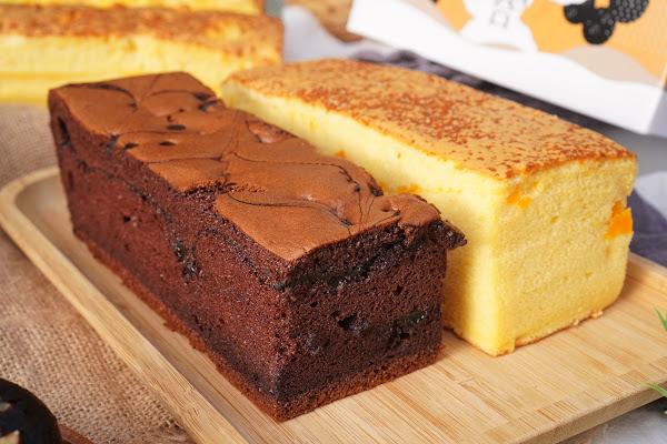 高雄前鎮區美食【橘香合 蛋糕職人 高雄店】餐點介紹 濃醇可可現烤蛋糕