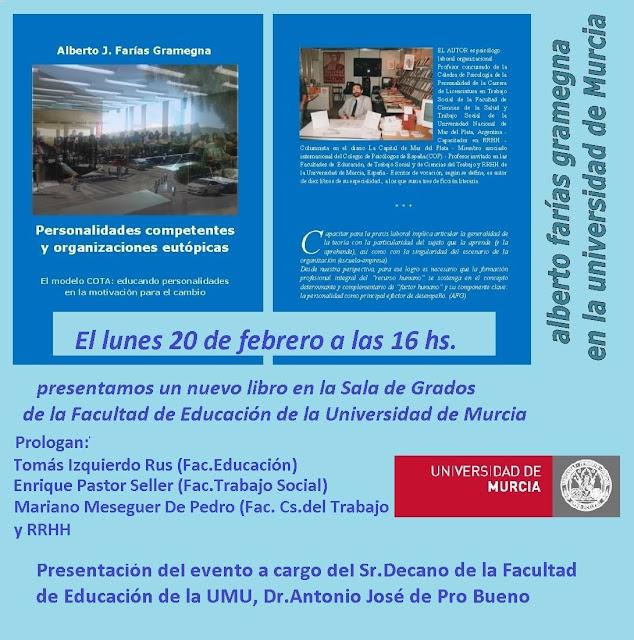 """Conferencia: """"Personalidades competentes y organizaciones eutópicas"""""""