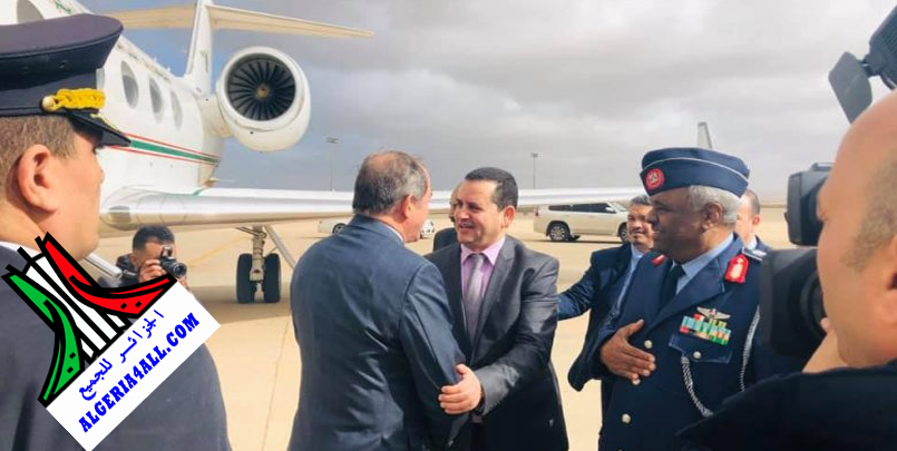 صور وزير الخارجية الجزائري في ليبيا.png , صبري بوقادوم