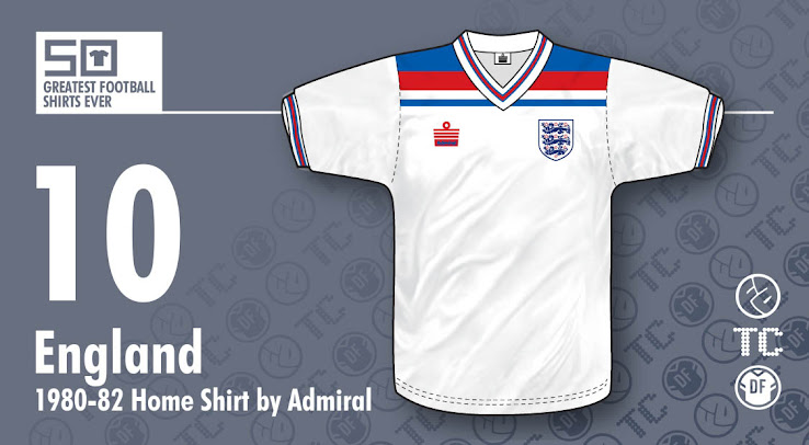 79321d9c013 ... a remarkable navy and red design on the top of the shirt. It comes with  England's famous Saint George's Cross inside the collar and on the sleeve  cuffs.