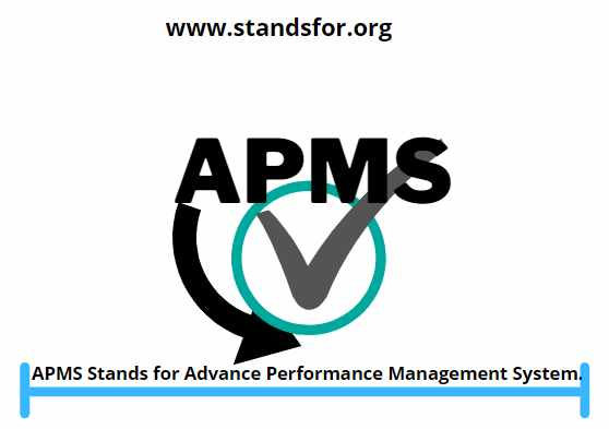 APMS-APMS Stands for Advance Performance Management System.