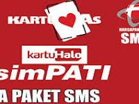 Top Auto Payment - Paket Sms Telkomsel Ke semua Operator