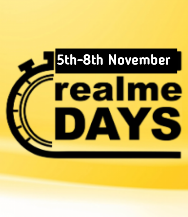Realme Days Sale on Flipkart Brings Discounts on Realme 5 Pro,Realme C2 Many More.