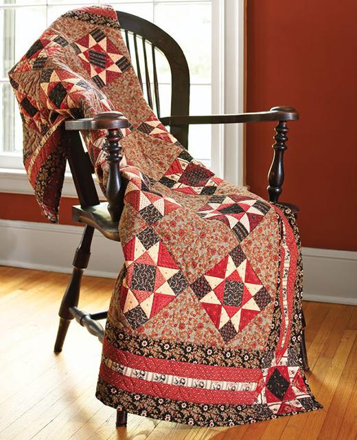 Autumn Spice Quilt Free Pattern