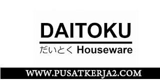 Lowongan Kerja Medan SMA SMK D3 Mei 2020 PT Daitoku Abadi Sejahtera