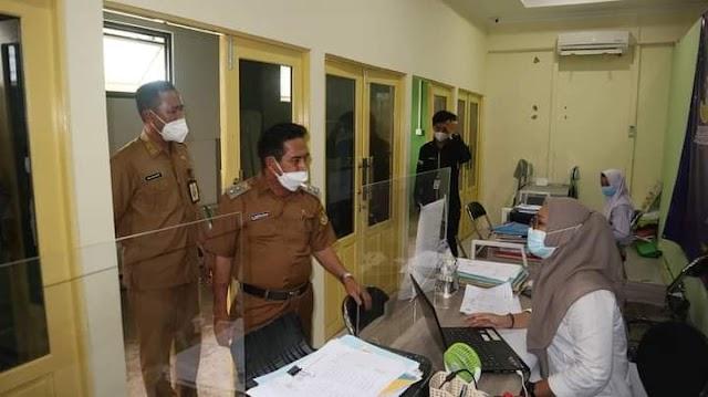 Arifin Kunjungi sejumlah SKPD lingkup Pemkot Banjarmasin