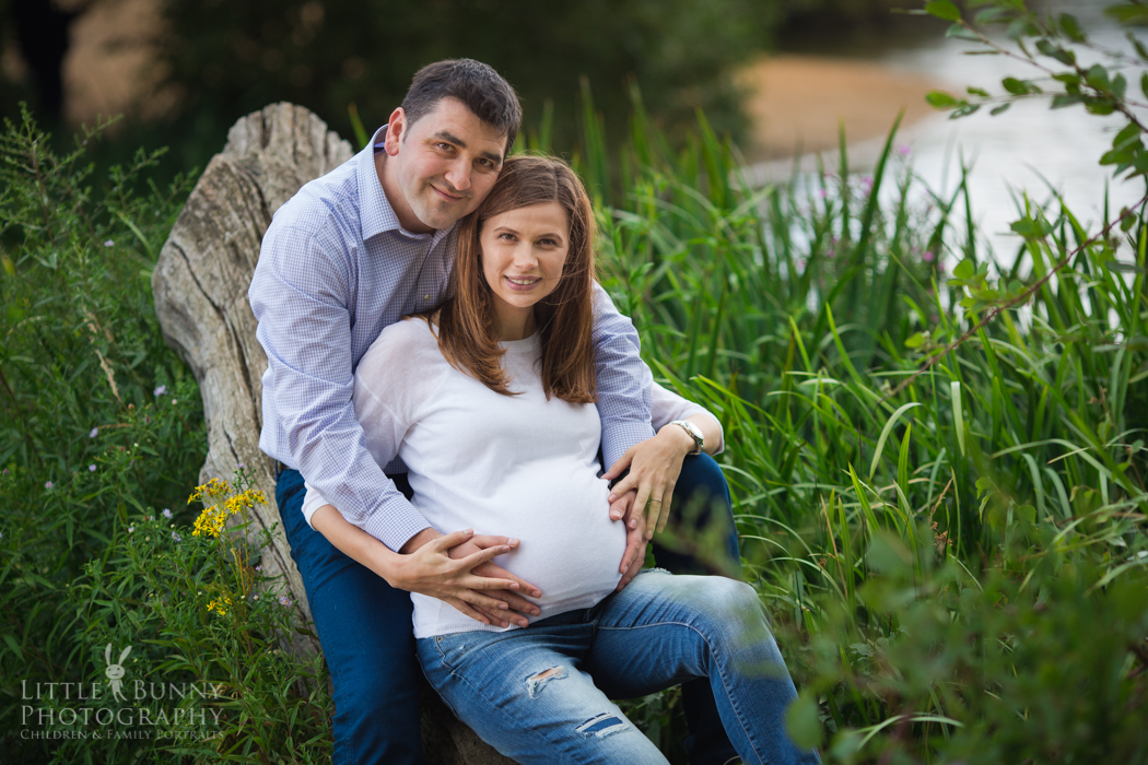 Natural lifestyle maternity photography in East London and North London