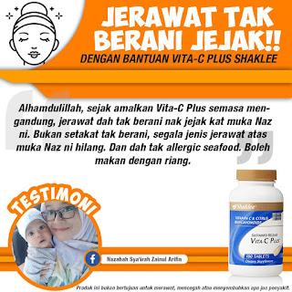 Testimoni Vitamin C Jerawat Tiada