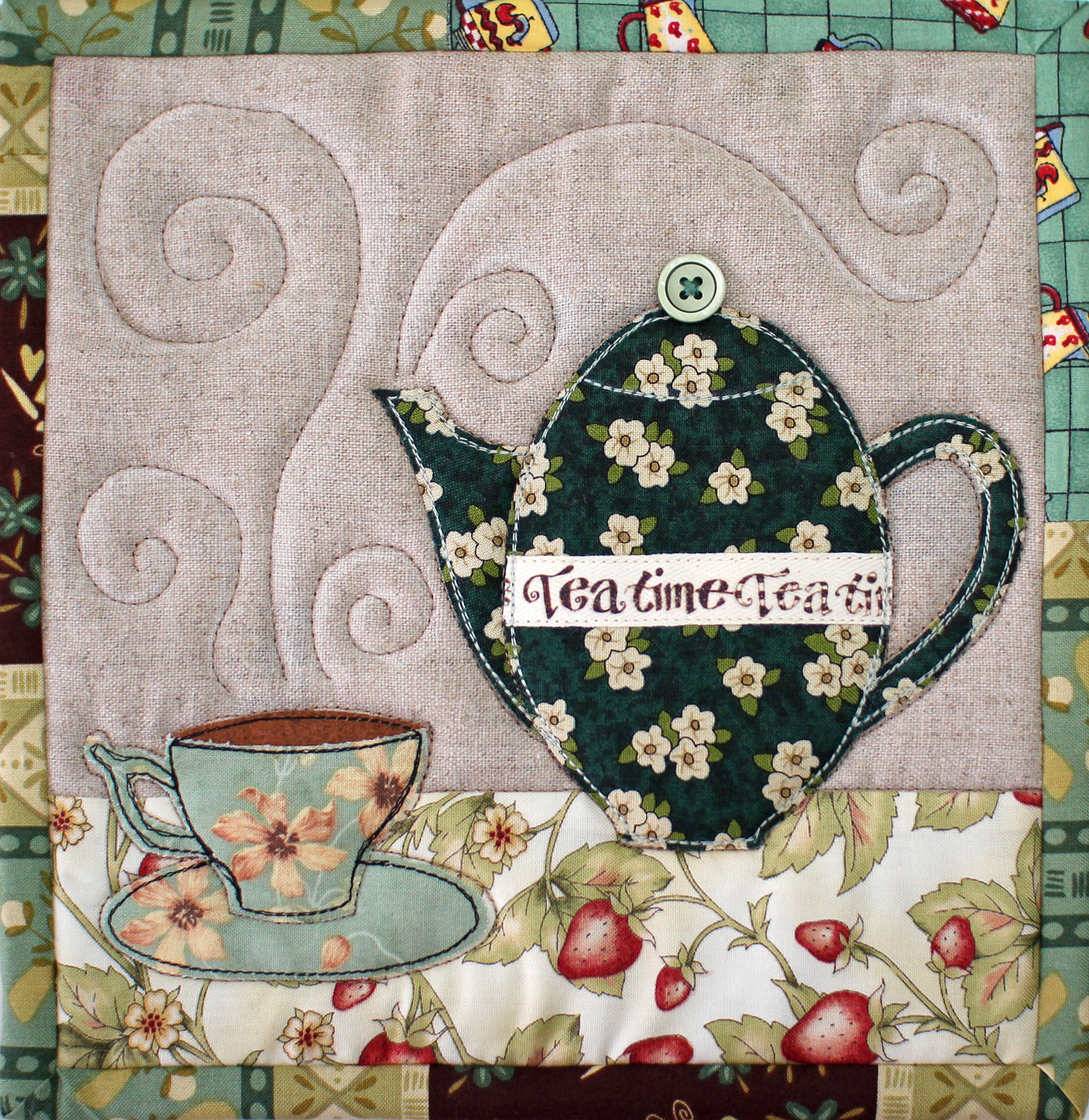 PatchworkPottery: TeaTime Trivets : tea time quilting - Adamdwight.com