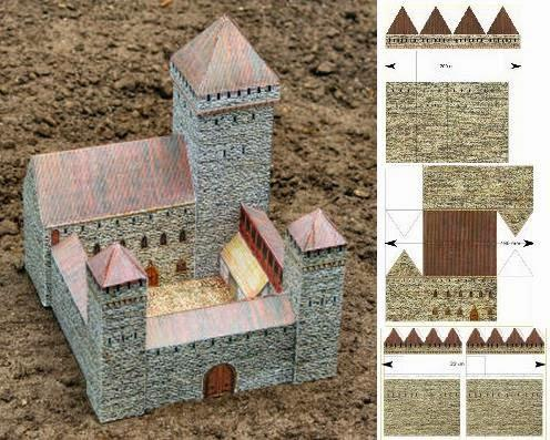 Examples List on Medieval Castles