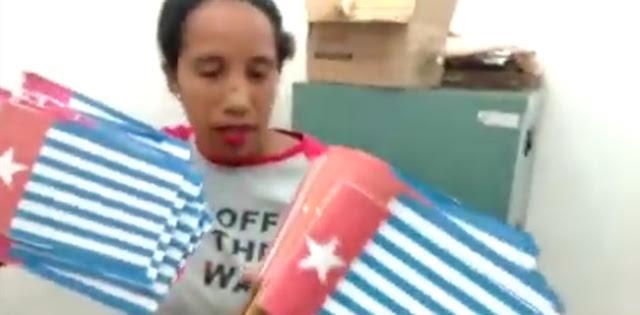Kader Perindo Diduga Bawa Ratusan Bendera Bintang Kejora ke Manokwari