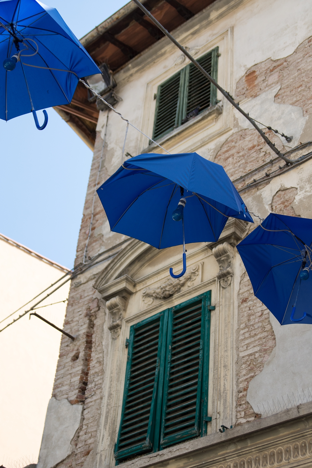 Sonnenschirm Parade in Empoli
