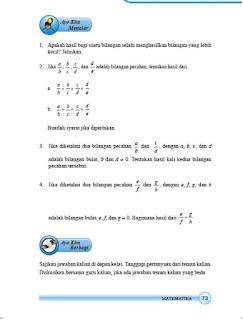 kunci jawaban matematika kelas 7 smp/mts halaman 73