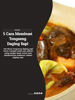 Cara Membuat Tongseng Daging Sapi