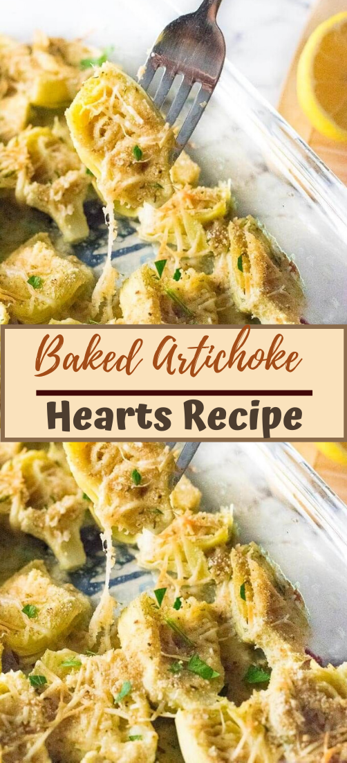 Baked Artichoke Hearts Recipe #vegan #vegetarian #soup #breakfast #lunch