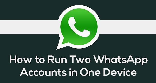 How to run two WhatsApp account on the same phone?